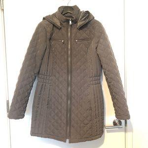 St. Johns Bay -  Grey Hooded Winter Coat